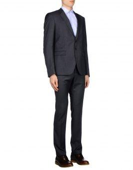 חליפת Just Cavalli אפור כהה צד קדמי