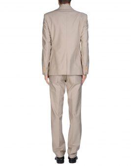 חליפת GF Ferre בצבע שמנת צד אחורי