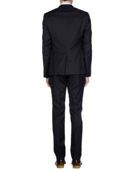 חליפת Just Cavalli אפור כהה צד אחורי