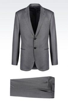 חליפה אפורה Giorgio Armani 49178013fb צד קדמי