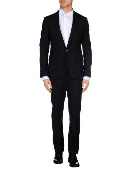 חליפת GF Ferre 49181561TG שחורה צד קדמי