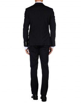 חליפת GF Ferre 49181561TG שחורה צד אחורי