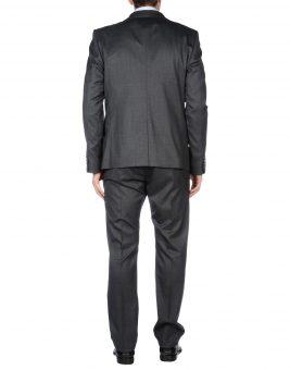 חליפת GF Ferre 49181584BQ אפור כהה צד אחורי