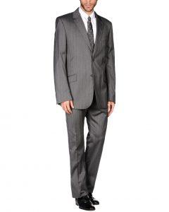 חליפת Just Cavalli אפורה צד קדמי
