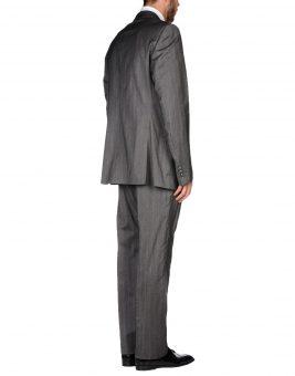 חליפת Just Cavalli אפורה צד אחורי
