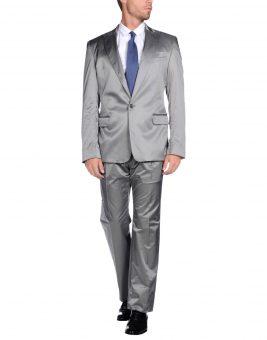 חליפת חתן Just Cavalli 49215673FG אפורה צד קדמי