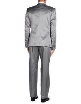חליפת חתן Just Cavalli 49215673FG אפורה צד אחורי