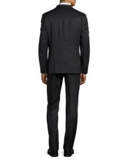 חליפת calvin klein שחורה צד אחורי