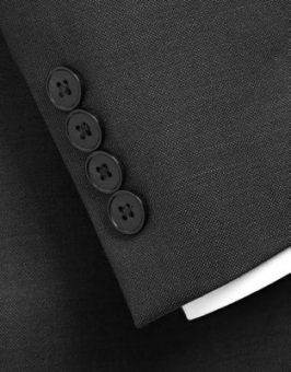 שרוול של חליפת calvin klein שחורה