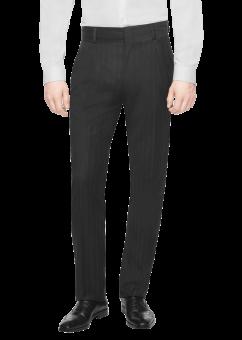 מכנסיים אלגנטיות שחורות מבית המותג Versace מבט מלפנים