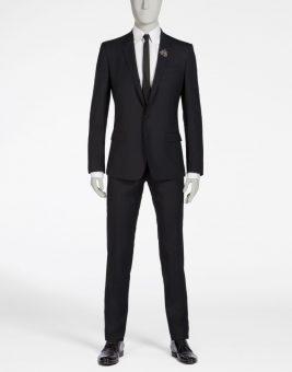 חליפת Dolce Gabbana שחורה צד קדמי