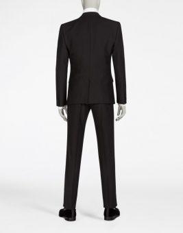 חליפת Dolce Gabbana שחורה צד אחורי