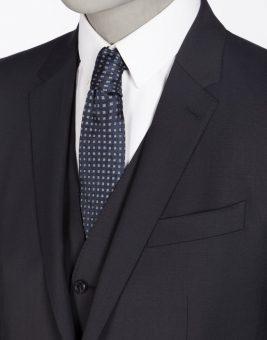 חליפת Dolce Gabbana כהה מבט על הצווארון