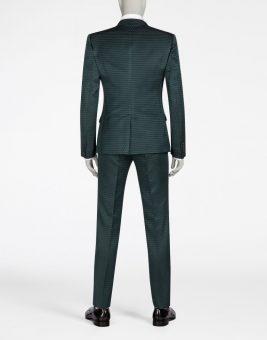 חליפת Dolce Gabbana שחורה צד אחרוי