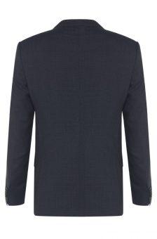 חליפה שחורה של חברת Hugo Boss מבט מאחור