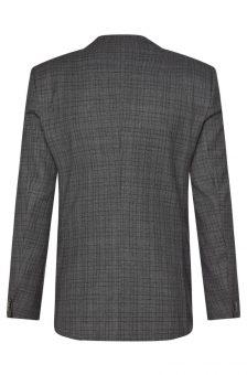 חליפה אפורה של חברת Hugo Boss מבט מאחור